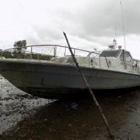 1 (satu) unit Kapal Patroli Pantai merk Suzuki 3x250 PK, lokasi di Sorong, milik Balai Konservasi Sumber Daya Alam Papua Barat