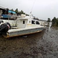 1 (satu) unit Speed Boat/Motor Tempel merk Suzuki 2x200 PK, lokasi di Sorong, milik Balai Konservasi Sumber Daya Alam