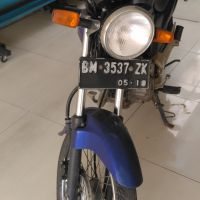 BPR Sarimadu: h. 1 (satu) unit Kendaraan Roda 2 (dua) Honda Mega Pro GL 160 D, Tahun 2008, Nomor Polisi BM 3537 ZK