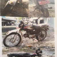 1 (satu) unit sepeda motor, merk Honda type Win (MCB), DA 2640 IZ, thn. 2005, warna Hitam, kondisi Rusak Berat