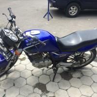 KPP Pratama Madiun - satu unit Sepeda Motor Merk Suzuki NoPol AE 5012 EA Warna Biru Type EN 125 Tahun Pembuatan 2004 Isi Silinder 125 CC