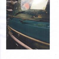 Satu unit mobil merek Daihatsu Zebra S89 warna biru metalik Nopol N898GF STNK dan BPKB tidak ada