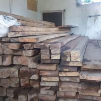 Satu paket kayu sebanyak 219 batang volume 9.4044 m3 temuan Dinas Lingkungan Hidup dan Kehutanan Provinsi Bengkulu