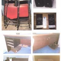 Satu paket barang inventaris kantor milik BNN Kabupaten Kediri