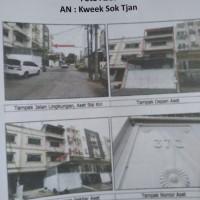 BANK UOB-RUKO SHGB No 9823,LT=93 m2, di Jl Pluit Karang Sari XV No. 37 C Blok C-7 Utara/B Kav. No. 1, Kel. Pluit, Kec. Penjaringan