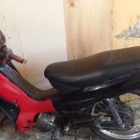 (BPN Halteng) 1 (satu) unit kendaraan roda dua merk/type Yamaha/T 105 E, Isi Silinder 105 CC, Tahun 2000, Nomor Polisi DG 5063 BM