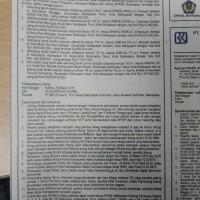 Sebidang tanah berikut sesuatu diatasnya seluas 218 m2, sesuai SHM No.06432, terletak di Kelurahan Manggar, Balikpapan