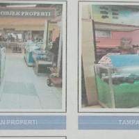 (Bank Muamalat) Bangunan luas 11 m2 SHMASRS blok I-9 di Ambon Plaza lt. II, Jl. Sam Ratulangi, Sirimau, Ambon
