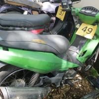 49. Pemkot: 1 (satu) unit sepeda motor Kawasaki AN130B tahun 2005 Nopol DR 2912 AK