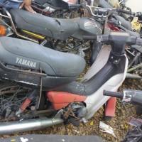 44. Pemkot: 1 (satu) unit sepeda motor Yamaha Alfa IIR tahun 1991 Nopol DR 3954