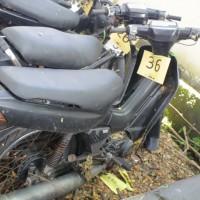36. Pemkot: 1 (satu) unit sepeda motor Yamaha V110E tahun 1994 Nopol DR 3873