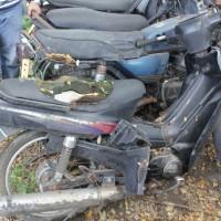 40. Pemkot: 1 (satu) unit sepeda motor Yamaha V110E tahun 1994 Nopol DR 3761