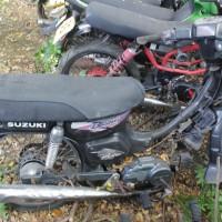 54. Pemkot: 1 (satu) unit sepeda motor Suzuki RC 100 tahun 2001 Nopol DR 2037 AK