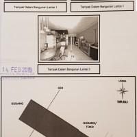 Tanah dan bangunan ruko SHM No.814 LT. 79 M2  jl. Dinoyo Kel.Keputran,Tegalsari,Surabaya