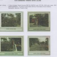 BPR Lestari,sebidang tanah kosong, SHM No. 8782, luas 470m2, di Kel. Benoa, Kec. Kuta Selatan, Kab. Badung (Lestari)