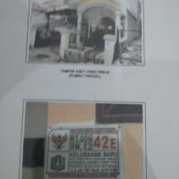 BANK DKI-RUMAH SHM 476, L=101 m2, di RT.06/RW.02 BARU, Kelurahan Baru, Kecamatan Pasar Rebo