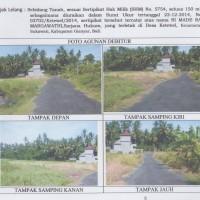 Sebidang tanah, SHM NO. 5754, luas 150m2, di Desa Ketewel, Kec. Sukawati, kab. Gianyar (PANIN)