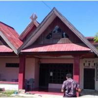 Sebidang tanah berikut bangunan, sesuai SHM No. 00584/Bonto Perak, Luas 406 m2,  Kab. Pangkep (Bank Mega)