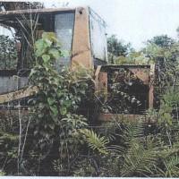 1 unit Alat Berat merk/type Caterpillar Hydraulic Excavator 320B, kondisi rusak berat/scrap (besi tua)