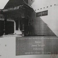 BRI Kta: Sebidang tanah, SHM No. 609 luas 124 m², berikut bangunan di Desa Bandungkidul Kecamatan Bayan Kabupaten Purworejo