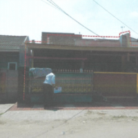 Sebidang tanah seluas 90 m2 berikut bangunan, SHM No.3583    Kel. Unyur, Kec. Serang, Kota Serang, Prop. Banten