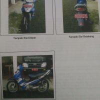 Kejari Purworejo: satu unit Sepeda Motor Suzuki FD125 XSD tahun 2006 Nopol AA 9807 DC, BPKB dan STNK ada