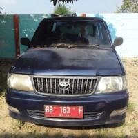 BPS Kota Padangsidimpuan - Satu unit Mobil Penumpang / Minibus, Merk Toyota, Type Kijang Super KF 80, Tahun 2003, Nomor Polisi BB 163 F