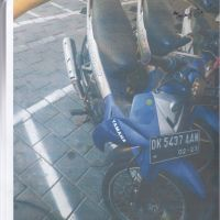 1 (satu) unit Kendaraan Roda 2 (dua) merk/type Yamaha Vega Th. 2006 Nopol DK 5437 AAN (PD Parkir Kota Denpasar)