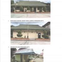 MAN 1 Kota Gorontalo : 3 (unit) Bangunan untuk dibongkar dengan material bongkaran kayu, besi, dan seng