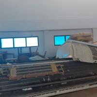 LPMP : satu paket peralatan inventaris kantor dalam kondisi rusak berat