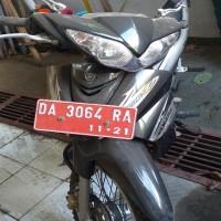 12. 1 (satu) unit Sepeda Motor Yamaha Jupiter Z, warna Hitam tahun 2007, DA 3064 RA