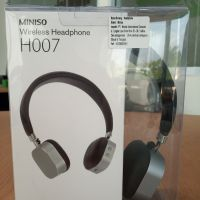 1 (satu) unit Wireless Headphone H007 Miniso