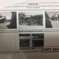 Bank Mega: TB SHM 708 ls130 m2  diPerum Sindang Sari Asri Jl Sindangsari II No.66 RT.01/09, Kel Antapani Wetan,Kec Antapani, Kota Bandung