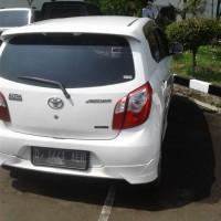 KEJAKSAAN NEGERI KAB SUKABUMI = Barang rampasan berupa 1 unit Toyota Agya warna putih Nopol : D-1441-AER dijual apa adanya