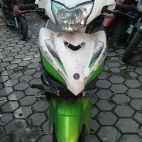 KEJARI CIREBON : 1 (satu) unit sepeda motor Jupiter MX warna putih hijau dengan No Pol E 5852 NF