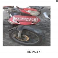 PPS Belawan - 1 (satu) unit Sepeda Motor Merk/type Honda NF, No. Polisi BK 3974 K, tahun 2006
