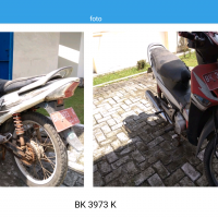PPS Belawan - 1 (satu) unit Motor Honda NF, No. Polisi BK 3973 K, tahun 2006 (Rusak Berat)