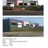 KSPPS BMT Bahtera Pekalongan: Tanah dan bangunan, LT 97 m2 (SHM 01069) di Subah, Batang
