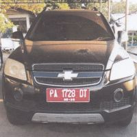 1 unit kendaraan roda 4 Merk/Type Chevrolet/Captiva 2,4L LT M/T, tahun 2009, Nopol PA 1728 DT