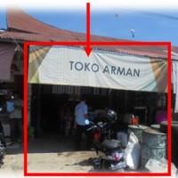 BSM (b) T/B (kios) sesuai SHGB No.55 LT 23m2 terletak di Nagari IV Koto Pulau Punjung Kec. Pulau Punjung, Kab. Dharmasraya