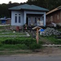 (BRI Sinjai) tanah (SHM No.55) berikut bangunan, Luas tanah 905 m2, di Desa Gareccing, Kec. Tonra, Kab. Bone