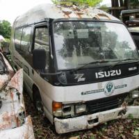 1 Paket berupa Scrap yang terdiri dari 2 Unit Kendaraan Dinas Operasional/Jabatan  Roda 4 (empat) Merek ISUZU dan Merek SUZUKI ESCUDO