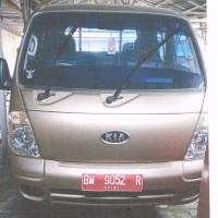 Kespel Dumai - Mobil Pick Up Merk KIA Type K2700 Tahun Perolehan 2006 BM 9052 R Kondisi Rusak Ringan