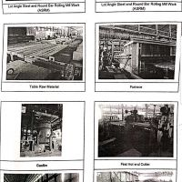 Mesin dan peralatan pabrik LSRM (Long Steel Rolling Mill) terletak di Jl Wringinanom Kab.Gresik