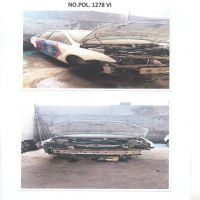 DITLANTAS.10: 1 (satu) unit kendaraan dinas Roda 4 (empat) Merk/type Ford No.Pol 1278-VI tahun 2007