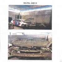 DITLANTAS.9: 1 (satu) unit kendaraan dinas Roda 4 (empat) Merk/type Ford Focus No.Pol 1282-VI tahun 2007