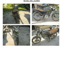 Polres.Sintang.33. Scrap/limbah padat kendaraan dinas roda 2 (dua) Polres Sintang Merk Suzuki Thunder No.Pol. 541-31 tahun 2004