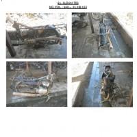 Polres.Sintang.61. Scrap/limbah padat kendaraan dinas roda 2 (dua) Polres Sintang Merk Suzuki TRS No.Pol. 569-31 tahun 1990
