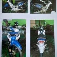Itjen Kemenhub: 1 (satu) unit motor Honda Supra X Th.2006 Nopol B 6543 PDQ, kondisi rusak berat