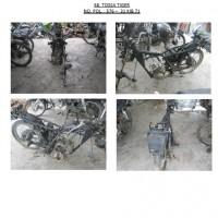 Polres.Sintang.68. Scrap/limbah padat kendaraan dinas roda 2 (dua) Polres Sintang Merk Tossa Tiger No.Pol. 576-31 tahun 2003